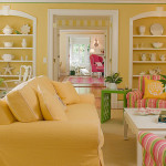 Traditional Home Design With Summer Colours