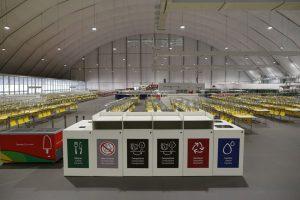 Brazil Rio Olympics Village Dining Hall