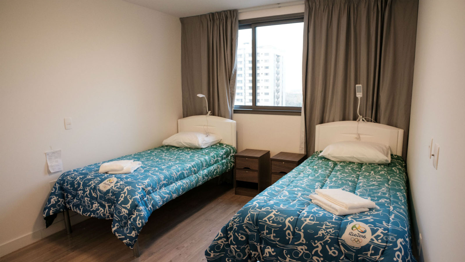 Rio Olympic Athletes Bedroom