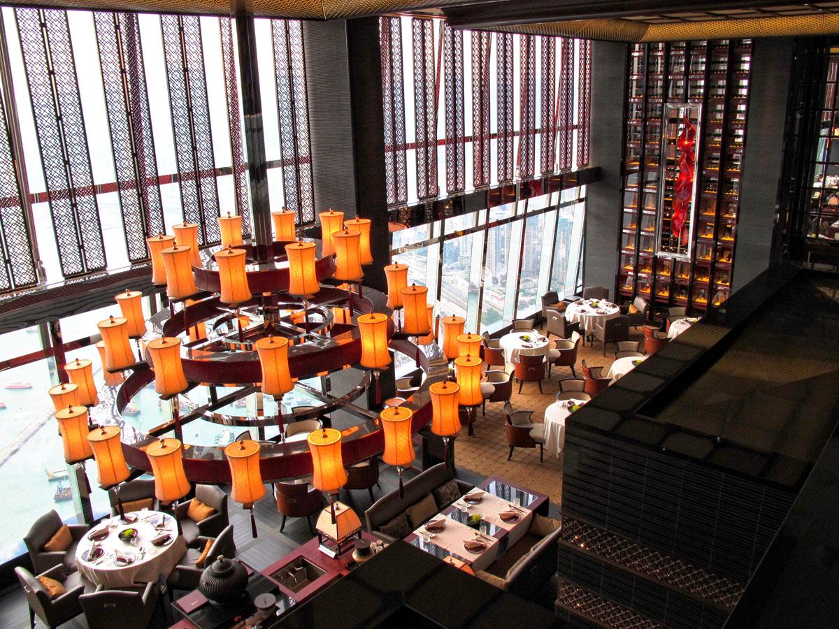 Ritz-Carlton Hong Kong – World's Tallest Hotel  iDesignArch  Interior Design, Architecture