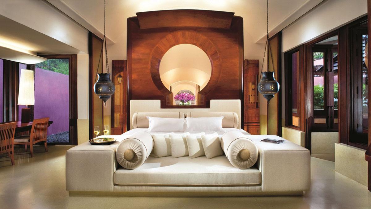 Luxury Hotel Suite with Thai Interior Decor