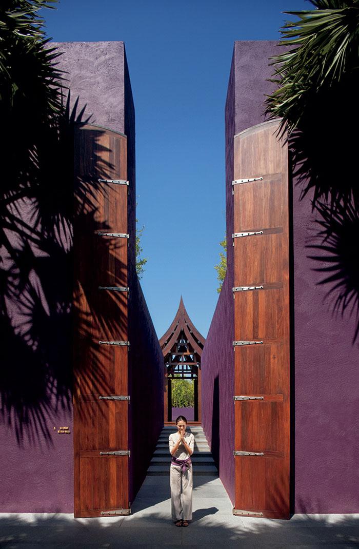 Giant Wooden Doors