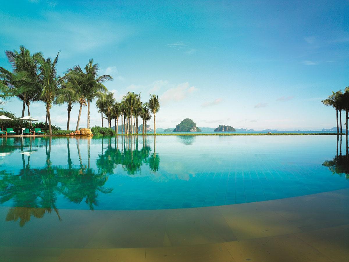 Tropical Paradise Swimming Pool Ocean View
