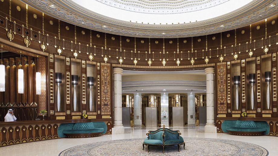 Stately Arabian Architecture At The Ritz Carlton Riyadh