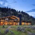 Montana River Bank Modern Sustainable Home