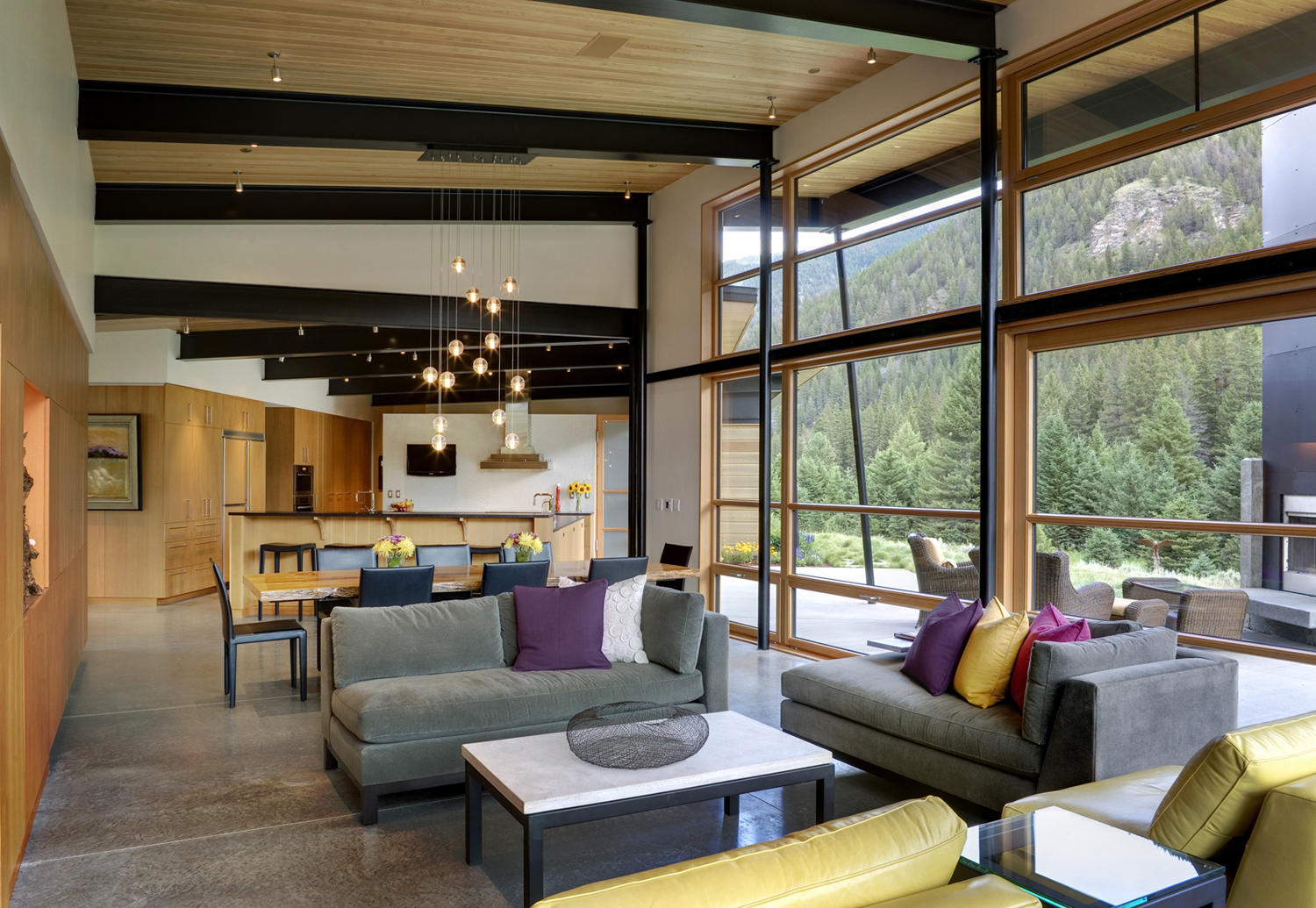 Bank Design Home.Montana River Bank Modern Sustainable Home Idesignarch