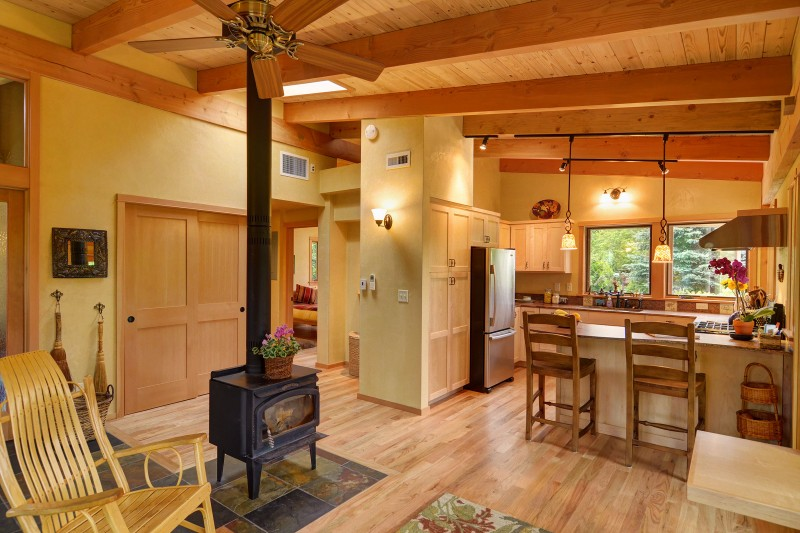 800 Square Foot Sustainable House In Oregon Idesignarch Interior Design Architecture Interior Decorating Emagazine
