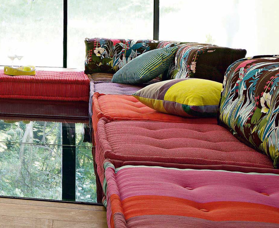 Roche Bobois Stylish And Functional Mah Jong Modular Sofas Idesignarch Interior Design