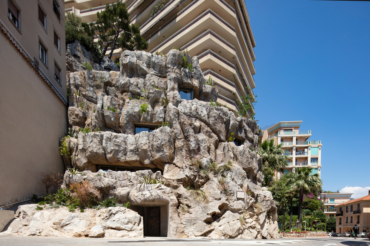 Rock Cave House