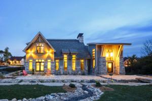 Luxury Stone Timber House