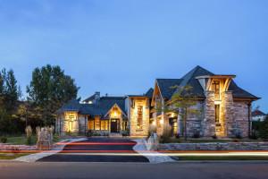 Luxury Stone Timber House Canada