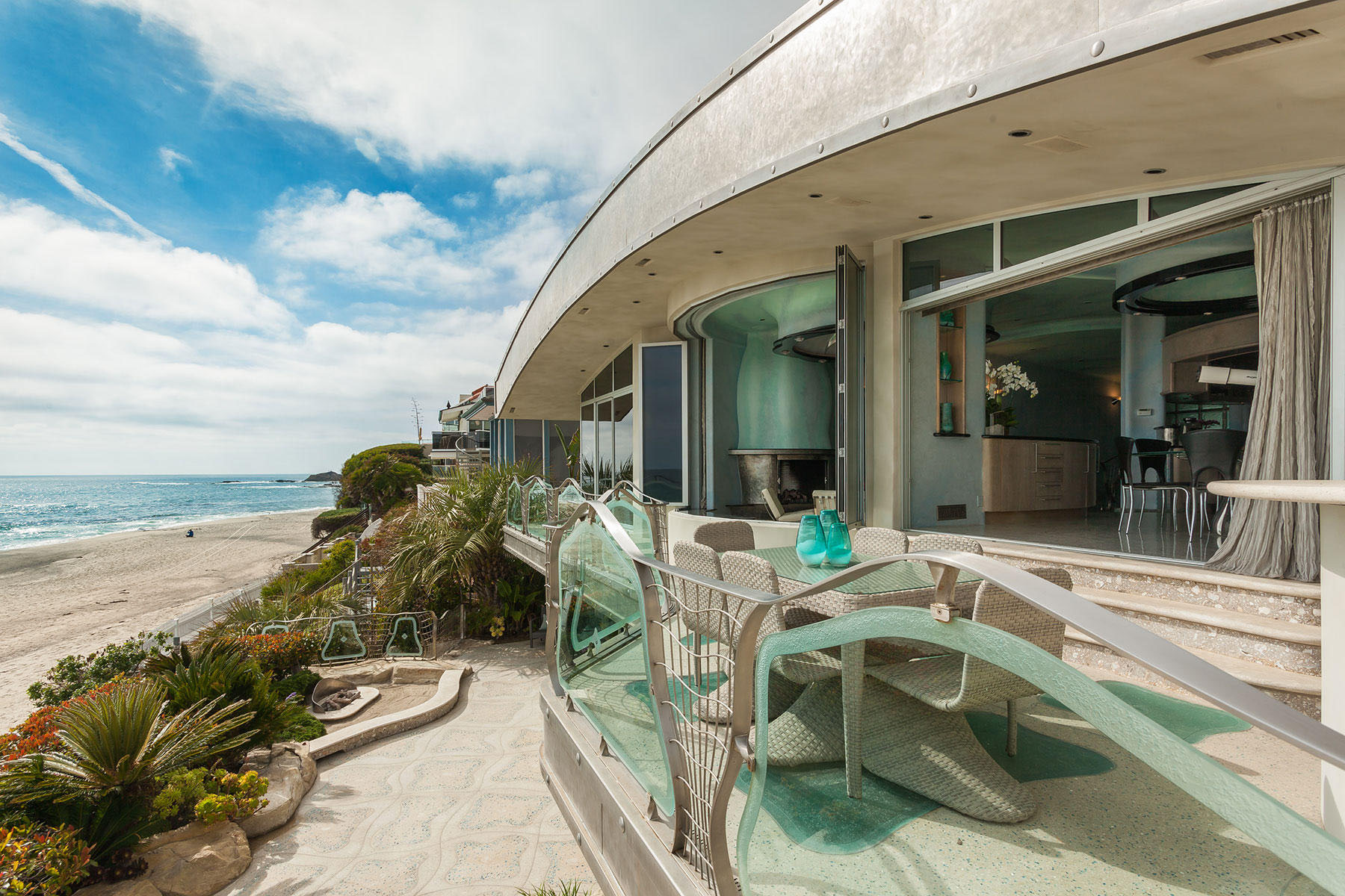 Unique Beachfront House