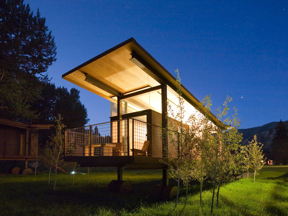 Movable Camping Huts And Guest Houses Idesignarch