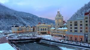 Rosa Khutor Alpine Resort Krasnaya Polyana Sochi Krasnodar Krai