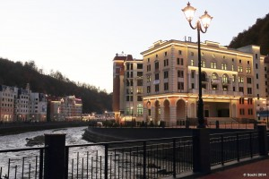 Rosa Khutor Sochi Oylmpic Resort Krasnaya Polyana Krasnodar Krai Russia