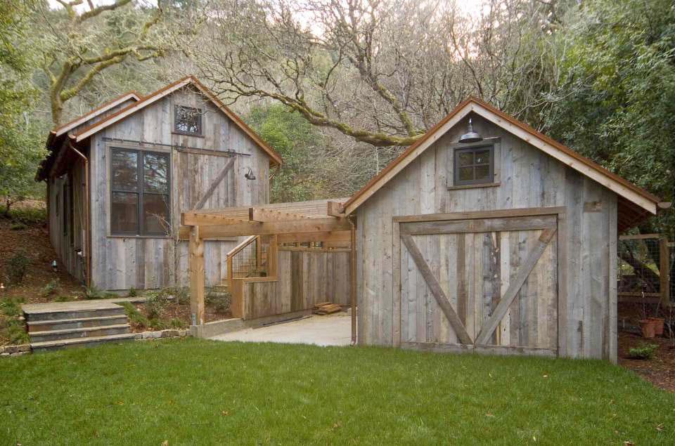 Deodar Cedar Barn House Cabin