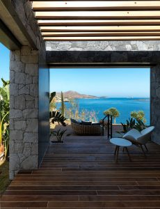 Ocean View Luxury Villa Terrace Bodrum Turkey