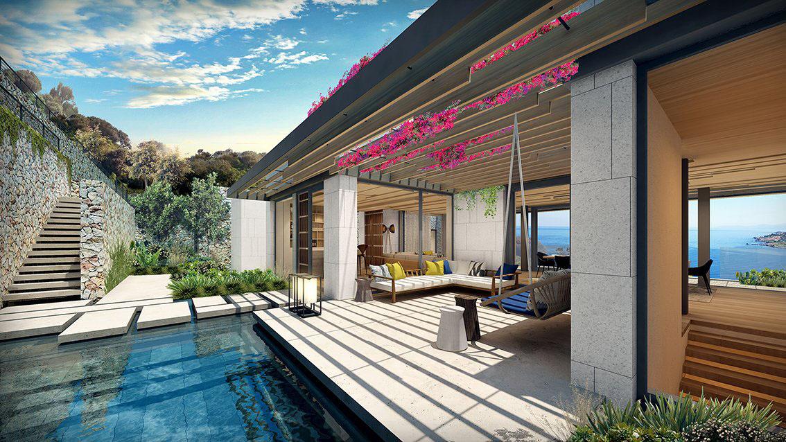 Luxury Ocean View Villa Bodrum Turkey