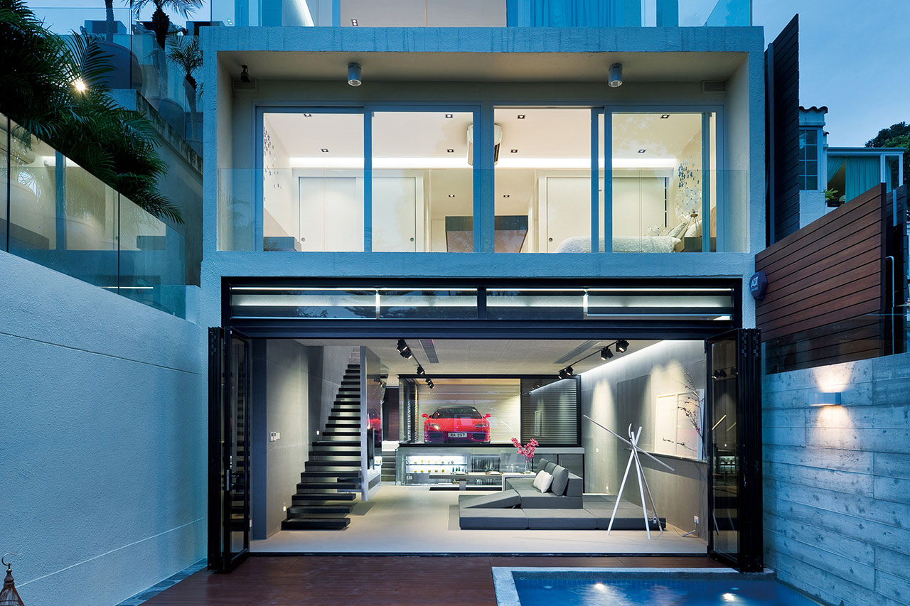 Luxury Modern House in Hong Kong
