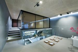 Modern Home with Sunken Kitchen
