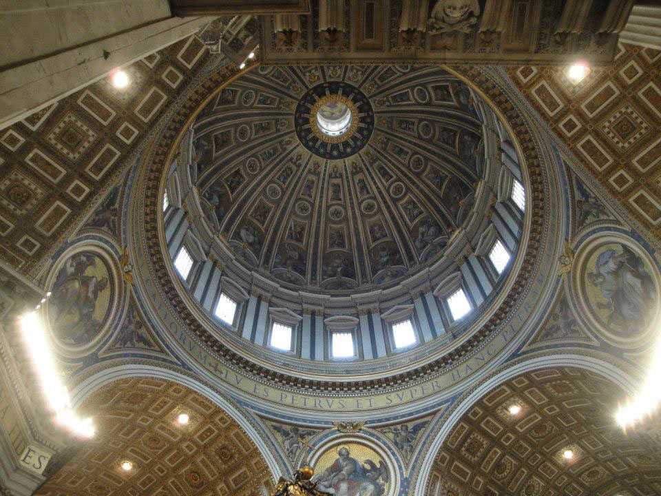 Saint-Peter's-Basilica-Dome