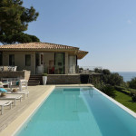 Provençal Style Villa In Saint Tropez With Stunning Ocean View