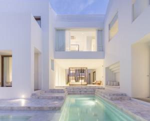 Luxury Hotel Marble Swimming Pool