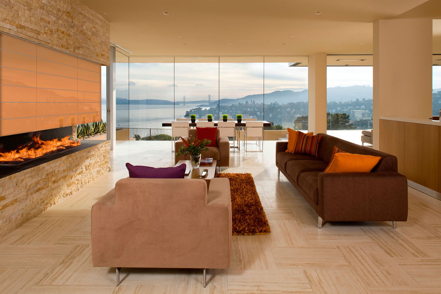 Luxury Ocean View Home San Francisco Bay and Golden Gate Bridge