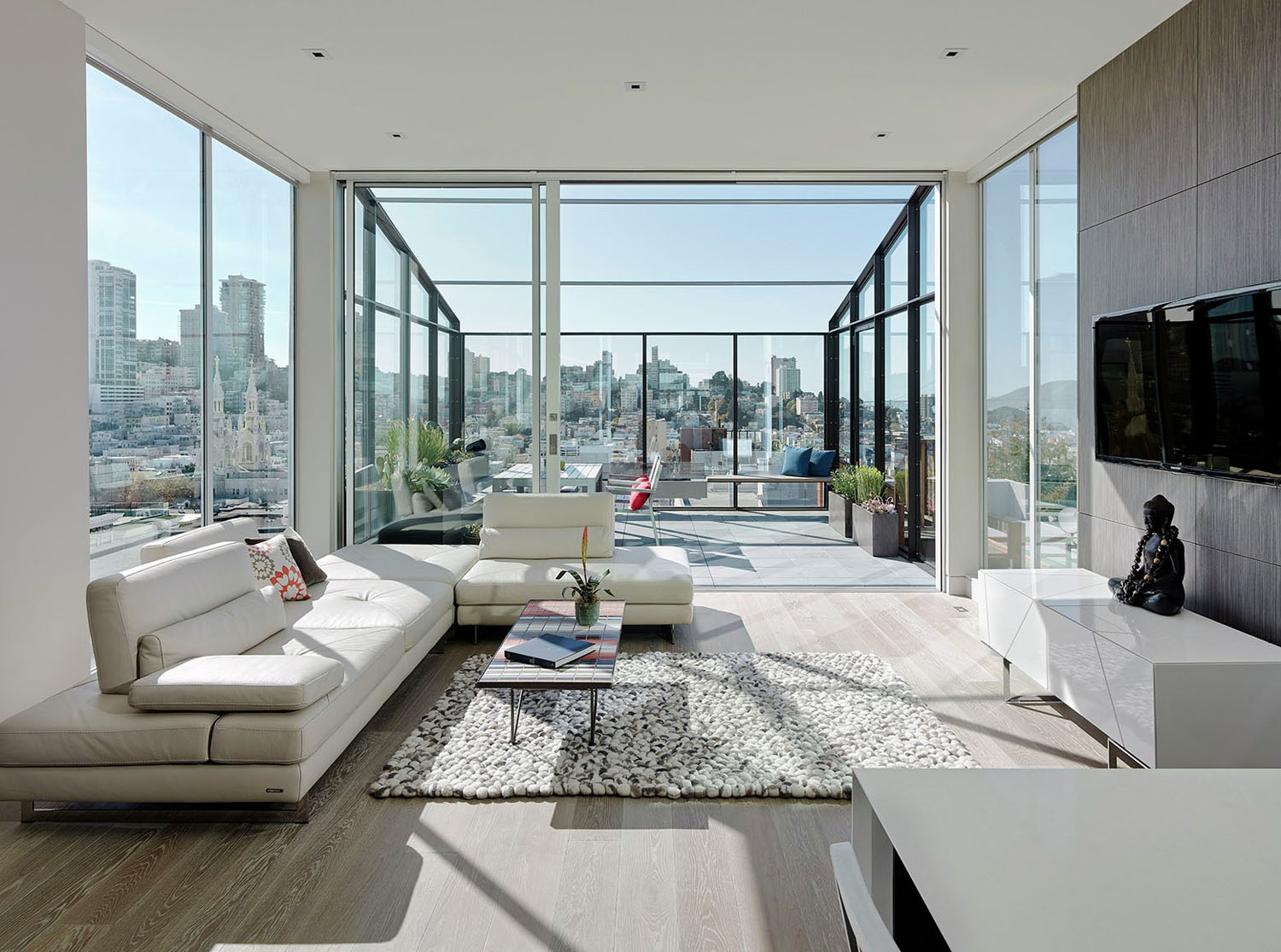 Modern San Francisco Home with Views of the City