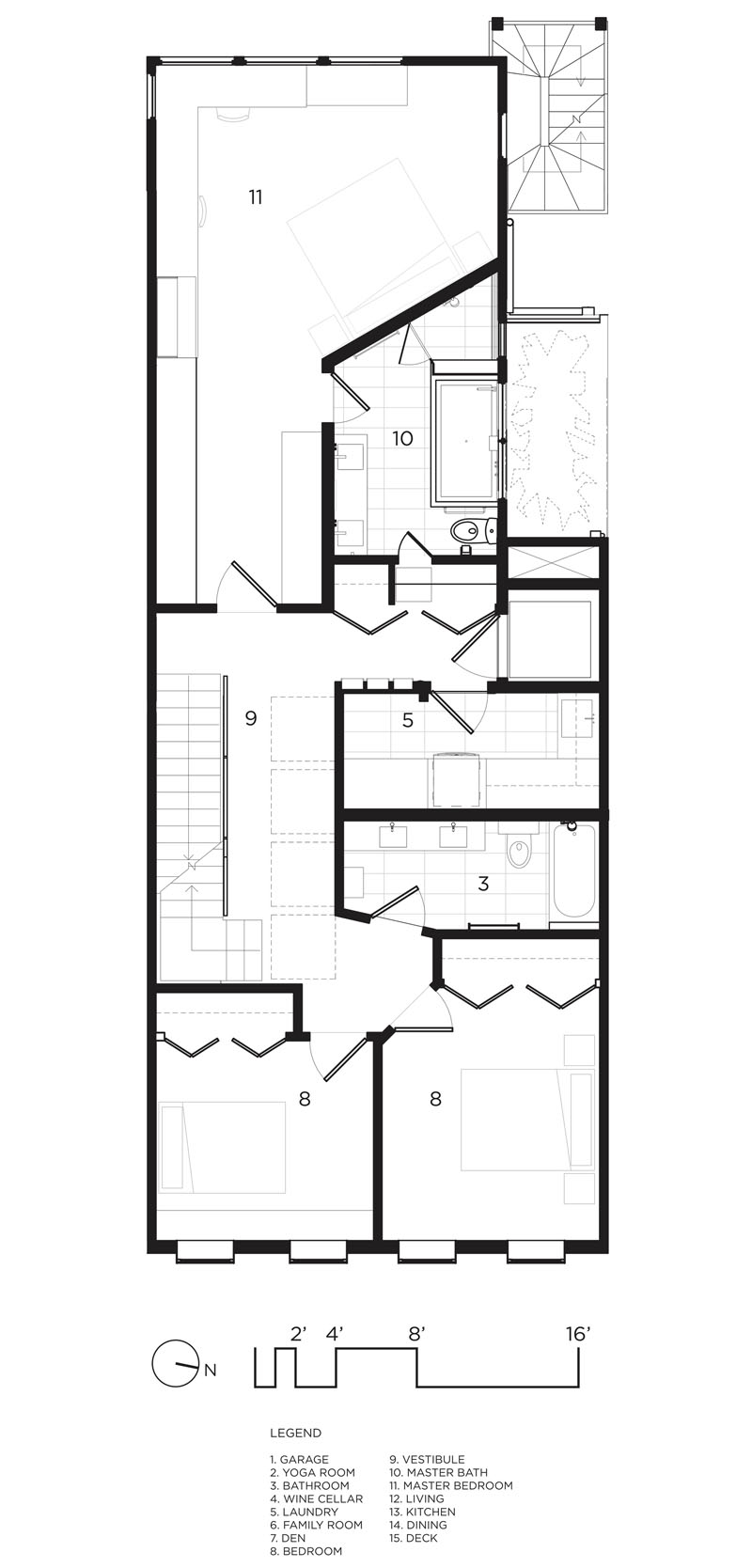 Telegraph Hill House Plans