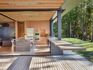 Modern Country Open Kitchen