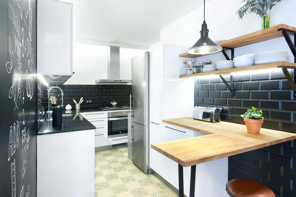Stylish Small Modern Kitchen Design