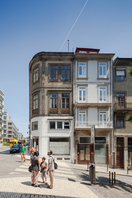 Santa Teresa Street Oporto Portugal