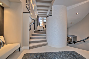 Contemporary Curved Staircase