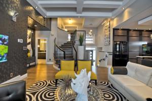 Elegant Contemporary Living Room Design