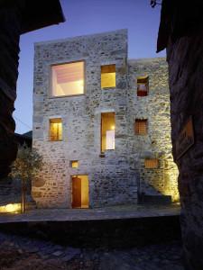 Stone House in Caviano Switzerland