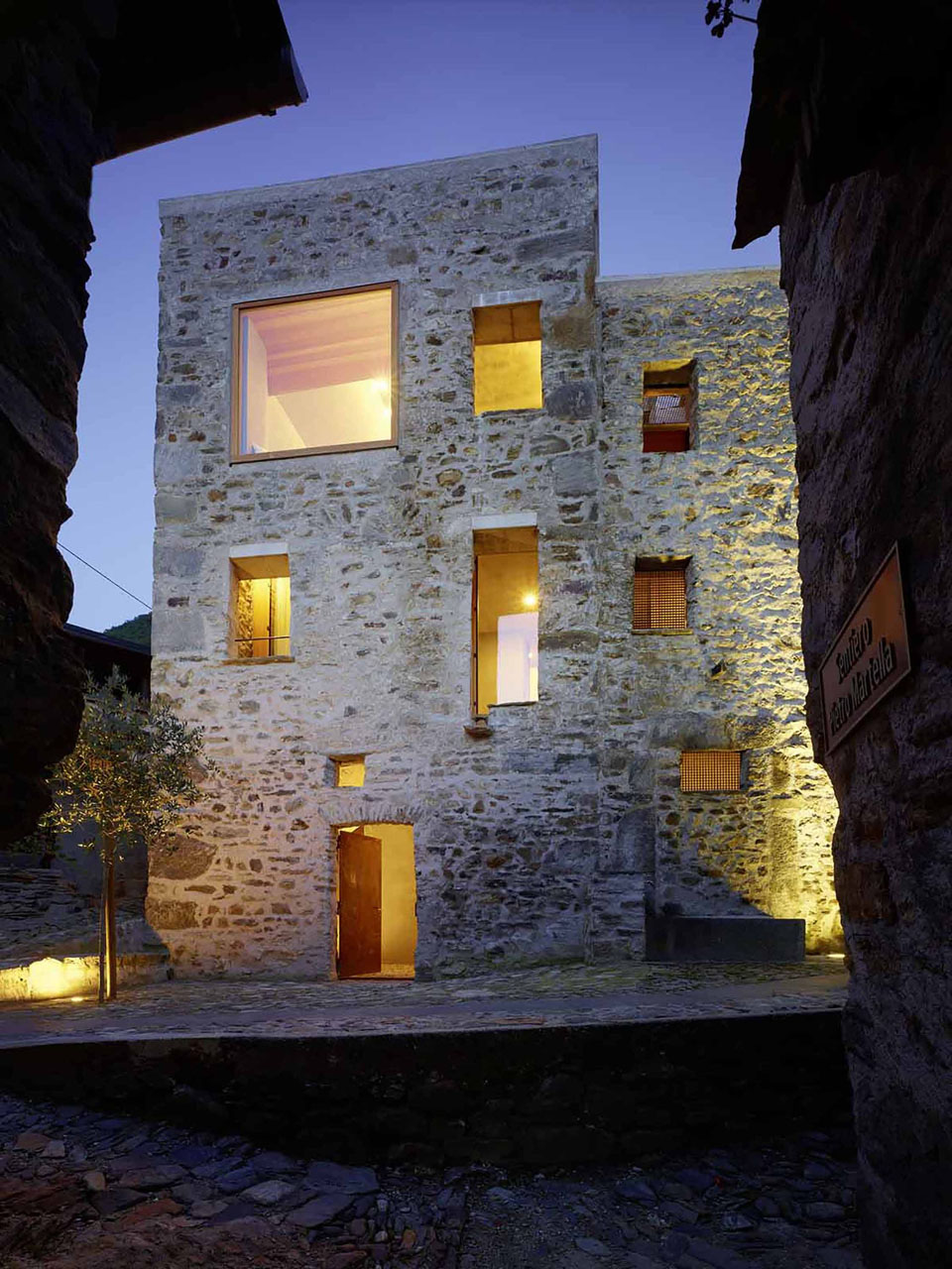 Stone House in Caviano Switzerland