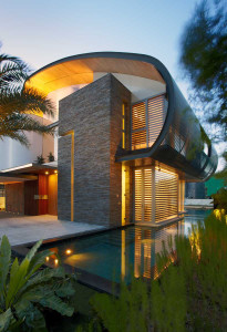 Singapore Modern Home with Pool