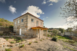 Old Stone House with Modern Interior Renovation