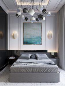 Elegant Neutral Tone Bedroom