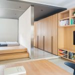Tiny Apartment With Functional Design That Feels Open Yet Private