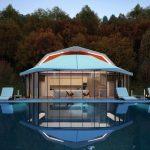 State Of The Art Shell Villa In Kazakhstan