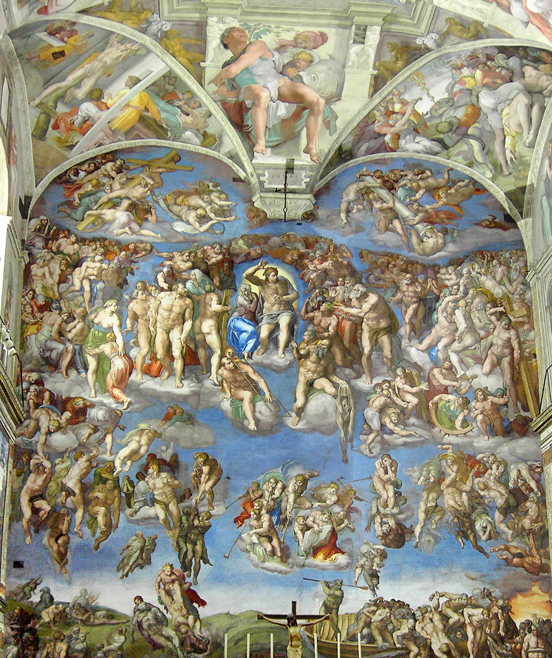 Sistine Chapel The Last Judgment