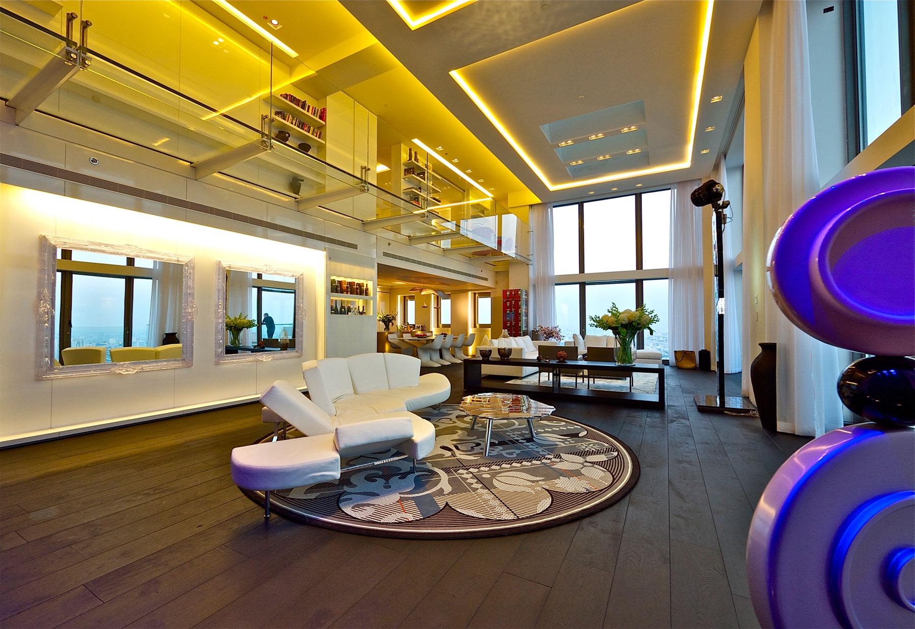Modern Penthouse Apartment in Tel Aviv Israel