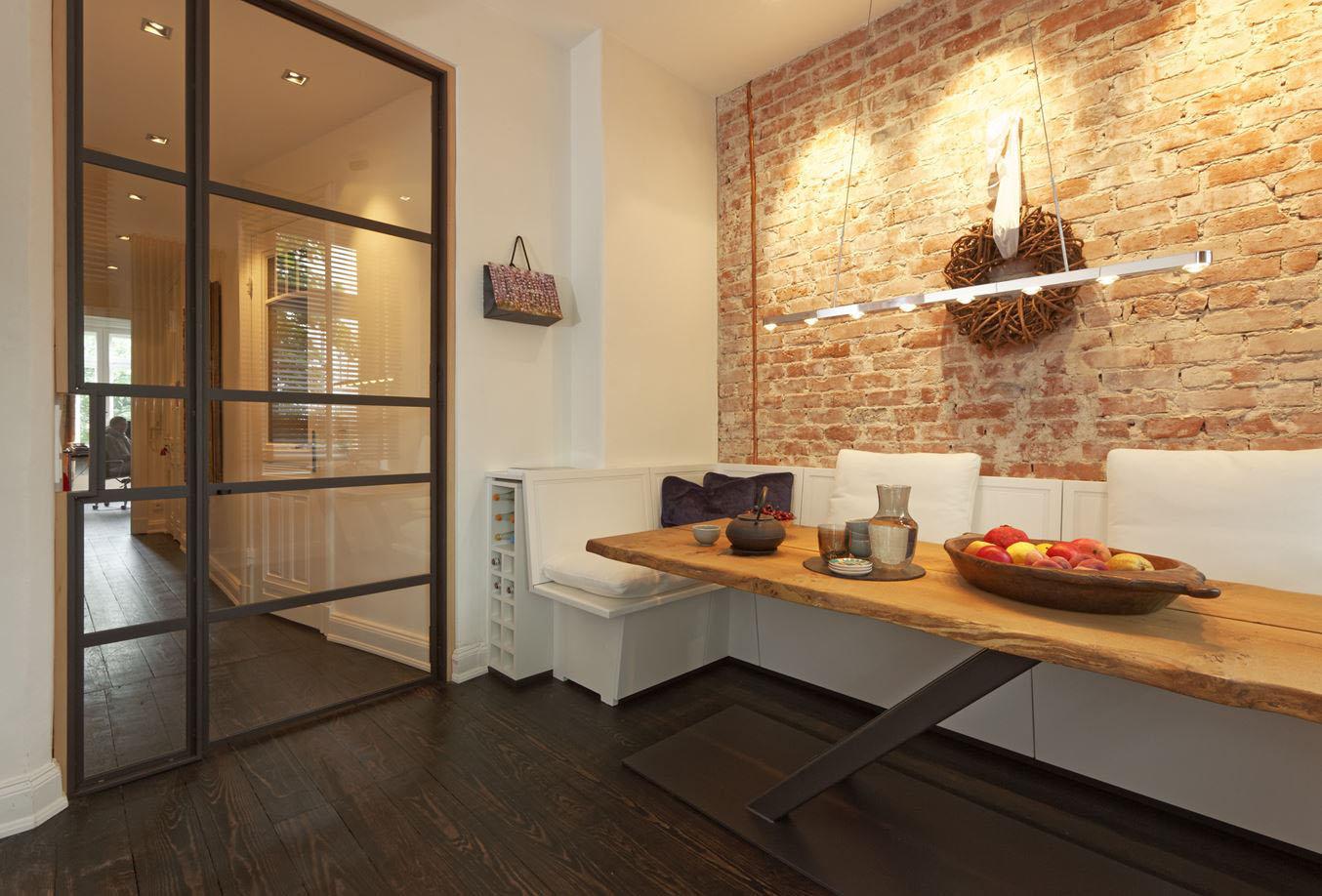 Decorating Bedroom With Brick Walls