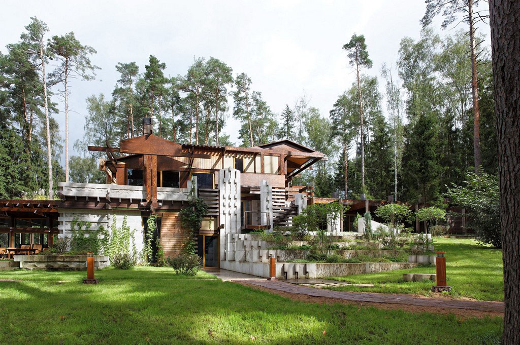 Interesting Country Cottage Design In Russia Idesignarch