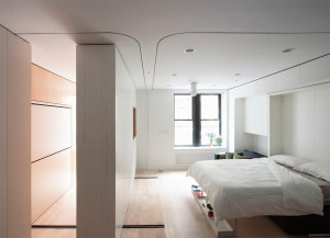 Studio Apartment Movable Wall