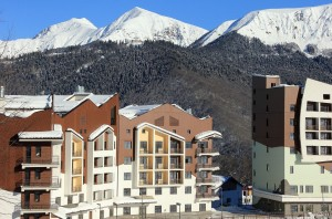 Sochi Olympics Mountain Cluster