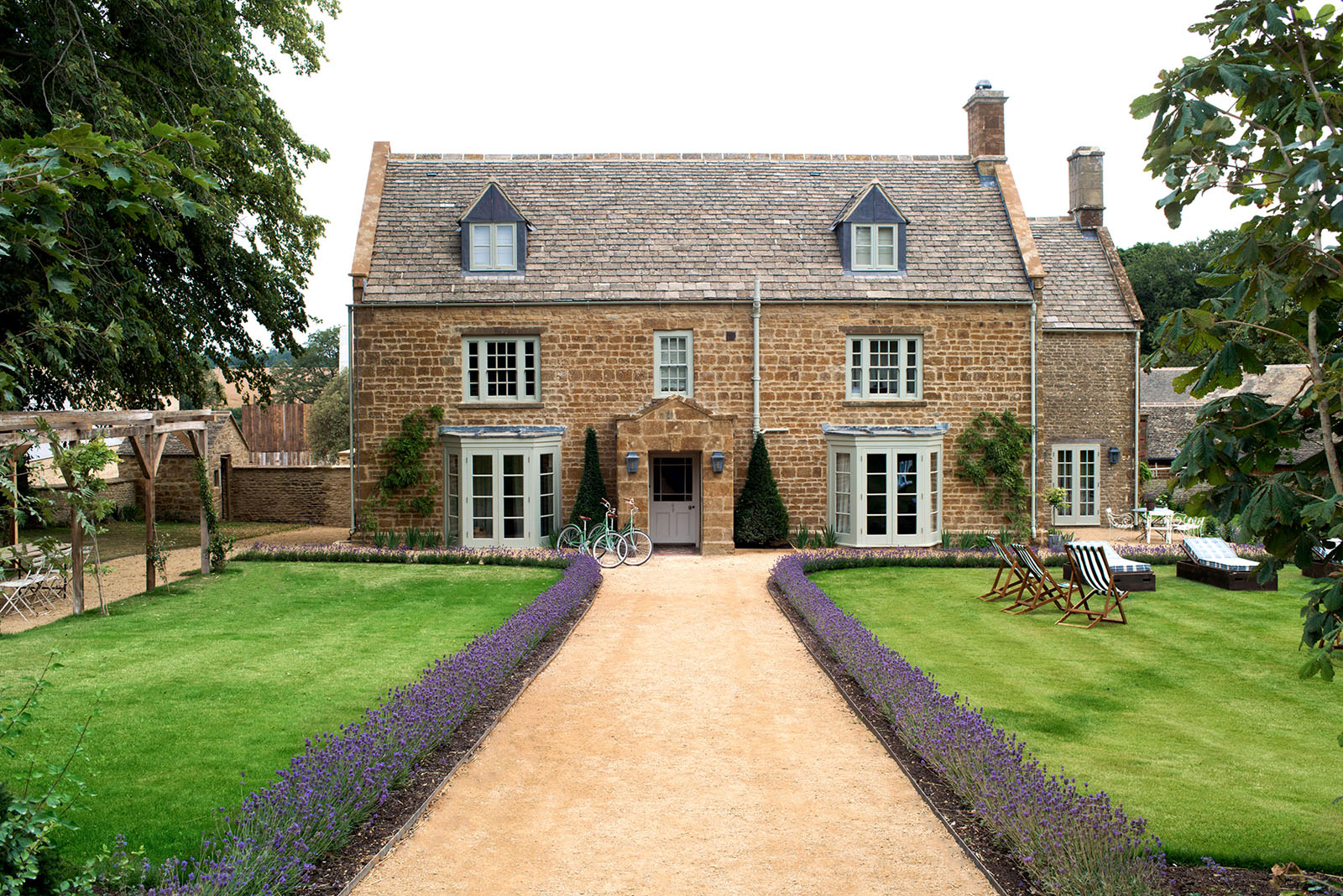 English Country Farm House