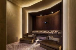 Luxury Home Cinema Media Room